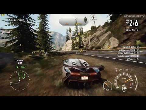 Need for Speed Rivals PC - Lamborghini Veneno Gameplay