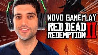 Novo gameplay Red Dead Redemption 2 , ASSALTOS a bancos, assalto ao TREM e MUITO mais