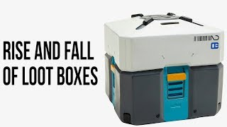 Rise and fall of loot boxes - A history of gambling in video games