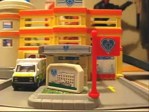 Motor Max Dyna City Hospital Modular Building Playset Review
