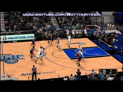 NBA 2K13 Atlanta Hawks vs Orlando Magic