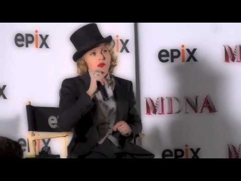 Madonna Q&A from MADONNA: THE MDNA TOUR Paris Epix Event 6.18.13 NYC