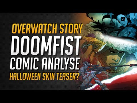 OVERWATCH COMIC DOOMFIST | Analyse | Halloween Skins Teaser? ★ Overwatch Deutsch