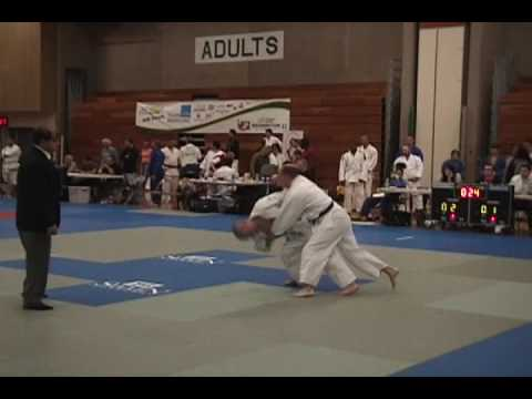 Dustin Brimhall's First Two Judo Matches at 2009 Wa State Games Image 1