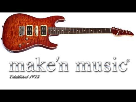 Hot n Fresh: Tom Anderson Drop Top in Fireburst w/ Binding arrives at Make'n Music!