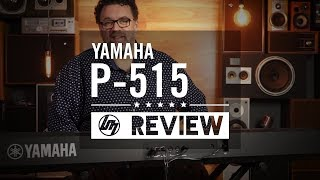 Yamaha P515 Portable Stage Piano | Better Music