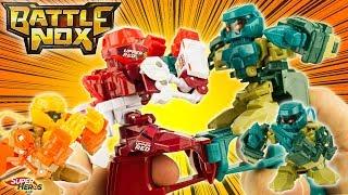 BATTLE NOX Les Robots de Combat Pouces Challenge et ça j'achète Splash Toys