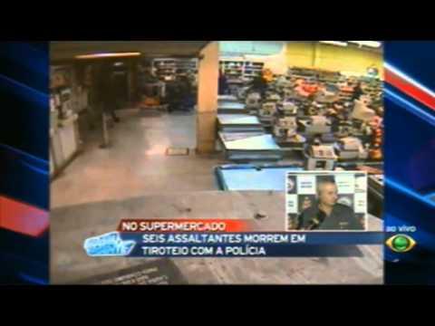Brasil Urgente seis bandidos morrem em tentativa de assalto 5/8/2011
