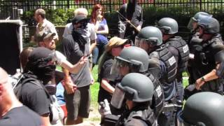 Violence Erupts Between Anti Fascists and Neo Nazis at Sacramento Capitol