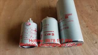 Bộ lọc bảo dưỡng máy xúc lật Liugong ZL50CN động cơ Cummins