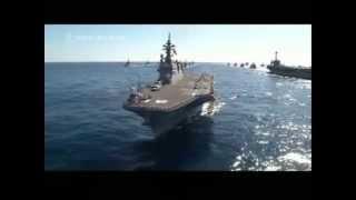 護衛艦ひゅうがを「ウルトラ警備隊」で出撃させてみた:日米共同演習の動画