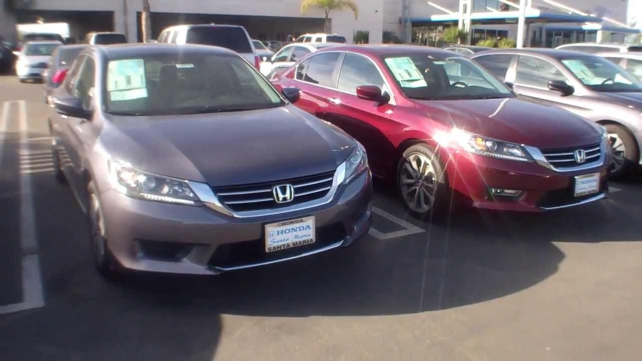 2014 Honda Accord LX or EX vs comparison - YouTube
