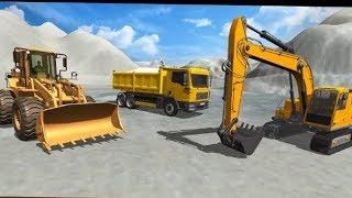 máy xúc tuyết ,máy  múc xe xúc lật xe ôtô tải Hoạt Hình, xe xúc khoan