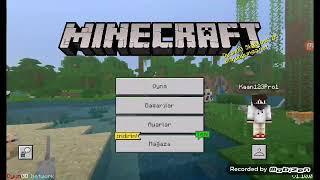 Minecraft tablet ve telefonlarda nasıl bilgisayarla dönüştürülür #1