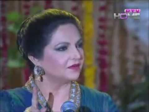 Tahira Syed - Man Di Moj Vich Hasna Khedna - Ptv Live