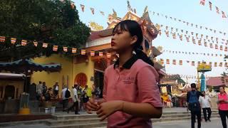 Phụ đề| Núi Bà Đen Tây Ninh chiều 30 TẾT KỶ HỢI có gì lạ ? Núi Bà Đen Tây Ninh 2019