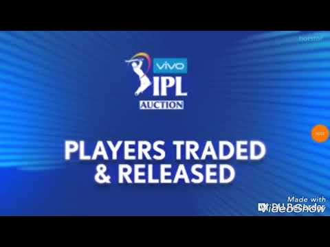 IPL | All Players Traded And Released For IPL 2019