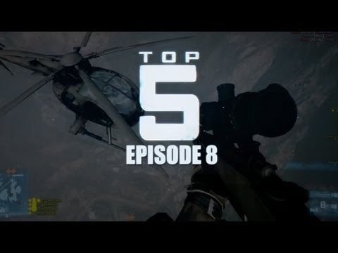 Top 5 Battlefield 3 Plays! - Episode 8