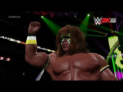 Ultimate Warrior's WWE 2K15 Entrance