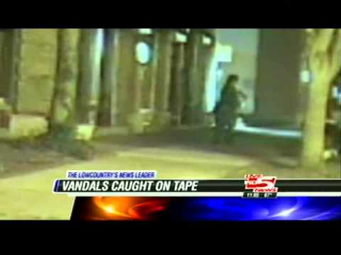 Cameras catch vandals, thief in the act in Georgetown