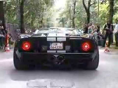 Geiger Ford GT 1/8 mile drag with 711 HP