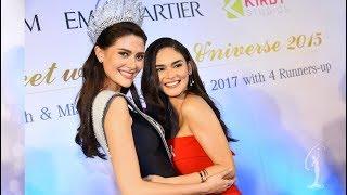Meet & Greet: Pia Wurtzbach and Maria Poonlertlarp [มารีญา พูลเลิศลาภ Miss Universe Thailand 2017]