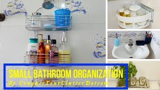 (14.0 MB) Small Bathroom Organization & Storage Ideas | Unfurnished Rental Friendly Decor Ideas Mp3