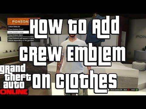 Online Crew Gta 5 ▶ Gta 5 Online Adding a Crew