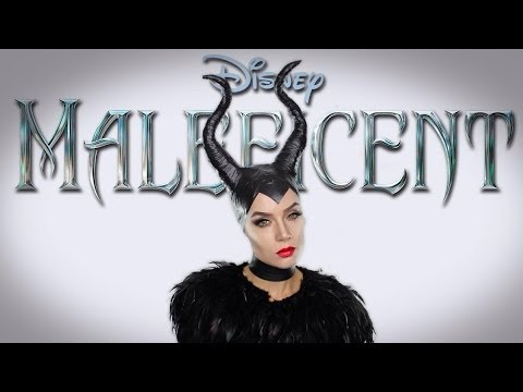 Disney's Maleficent - Angelina Jolie MakeUp Tutorial