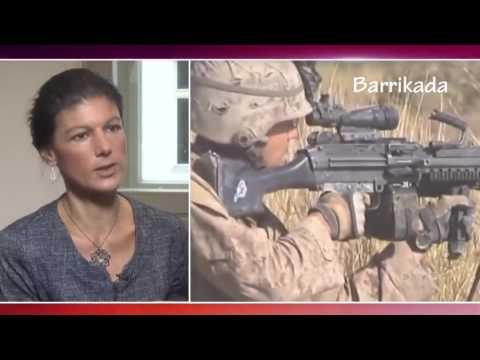 Сара Вагенкнехт  НАТО забывает, что Россия может хорошо дать  по зубам