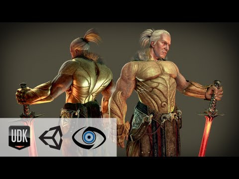 Professional Game Development Training For Unity, Cryengine, Udk And Game Art video