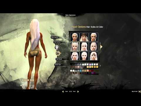 Guild Wars 2 - Character Creator Norn Female