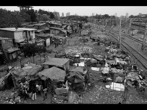 INDIA   MUMBAI  PART 1   SLUMS  documentary movie