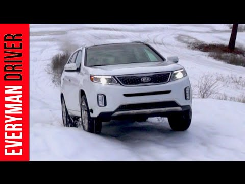 2014 Kia Sorento SX Limited AWD Snowy Off-Road Review on Everyman Driver