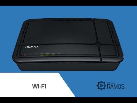 Como Configurar o Wi-Fi HUMAX CABLE MODEM NET VIRTUA - http://professorramos.com
