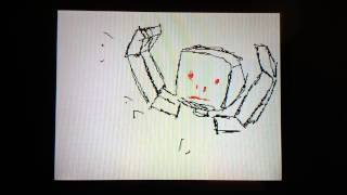 My first flipnote animation.