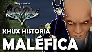 Kingdom Hearts Union X - El viaje temporal de Maléfica y los mundos de Datos (Explicación Español)