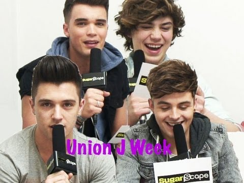 Sugarscape's Union J Week: The boys get dirty & play 'Fifty Shades of J'