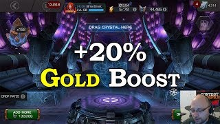 1.5m Battlechips +20% Gold Boost Opening | Marvel Contest of Champions