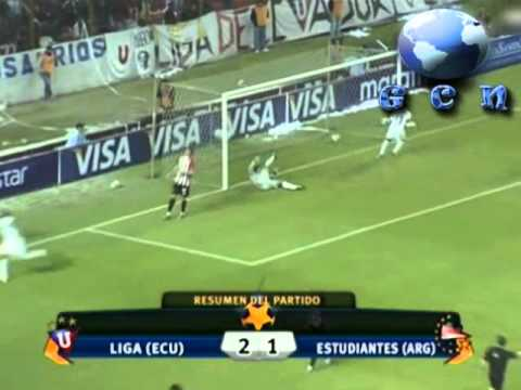 LDU QUITO vs  ESTUDIANTES 2-1 RECOPA 2010 [IDA] (GCN News)