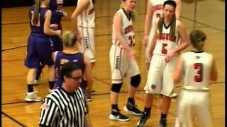 High School Girls Basketball Sandwich, IL vs Serena, IL 2016