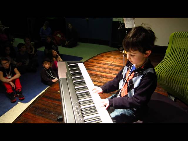 Ellis - Winter Piano Recital 2013