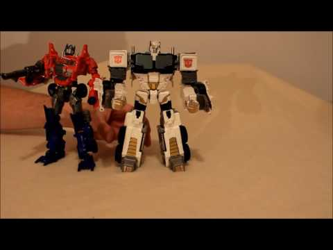 Transformers Custom Nova Prime From Battle Core Optimus - GotBot True Review NUMBER 202