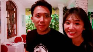 Trấn Thành bị troll khi đi ăn cùng Hari Won