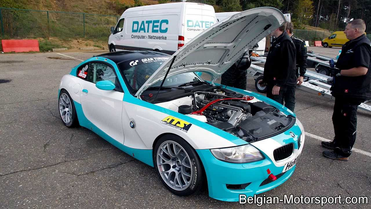 Bmw E85 Z4 Gt4 Extreme M Power Sound At Circuit Zolder