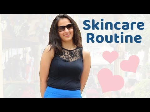 My Skincare Routine 2018 | Dry Skin | Indian vlogger | Mom N Me