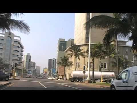 South Africa/Durban.Travelling by taxi