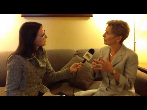 One-On-One With Premier Kathleen Wynne