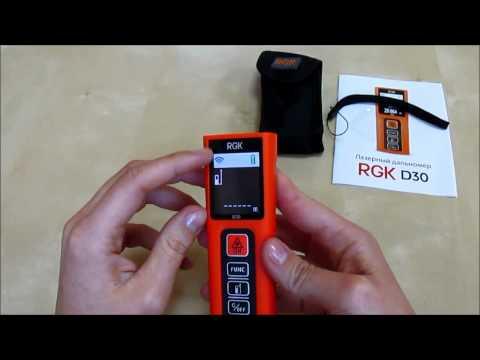Лазерный дальномер RGK D30 new