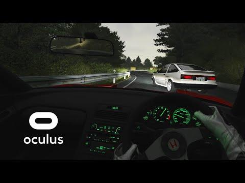 TOUGE BATTLE in VR | Honda NSX vs. Keiichi Tsuchiya @ Akina | Assetto Corsa Gameplay [Oculus Rift]